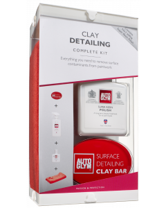 Clay Detailing Complete Kit